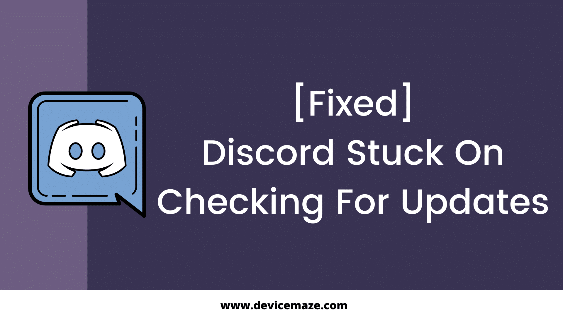 discord stuck on checking for updates