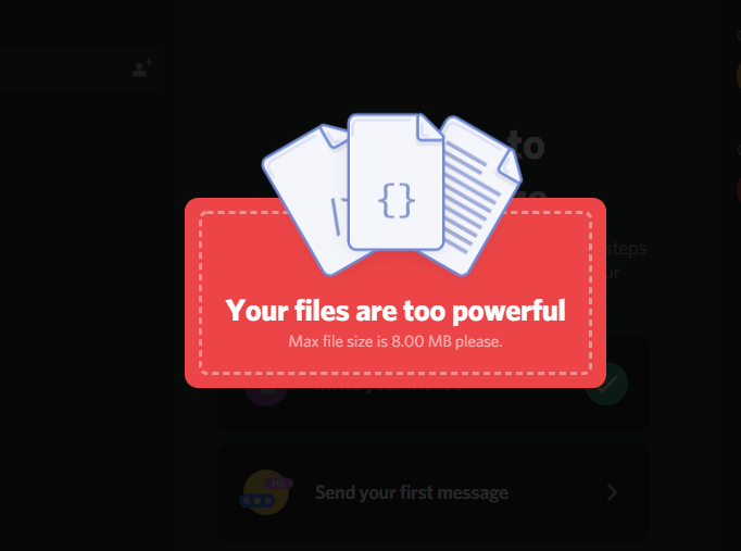 how to share videos on discord