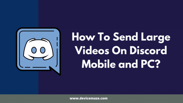 How To Send Videos On Discord Mobile