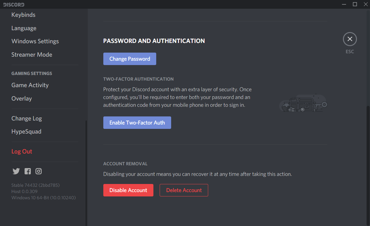 how to update better discord