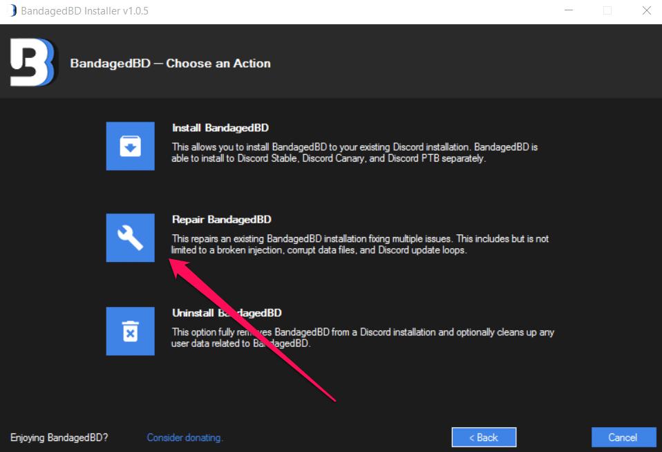 better discord not installing