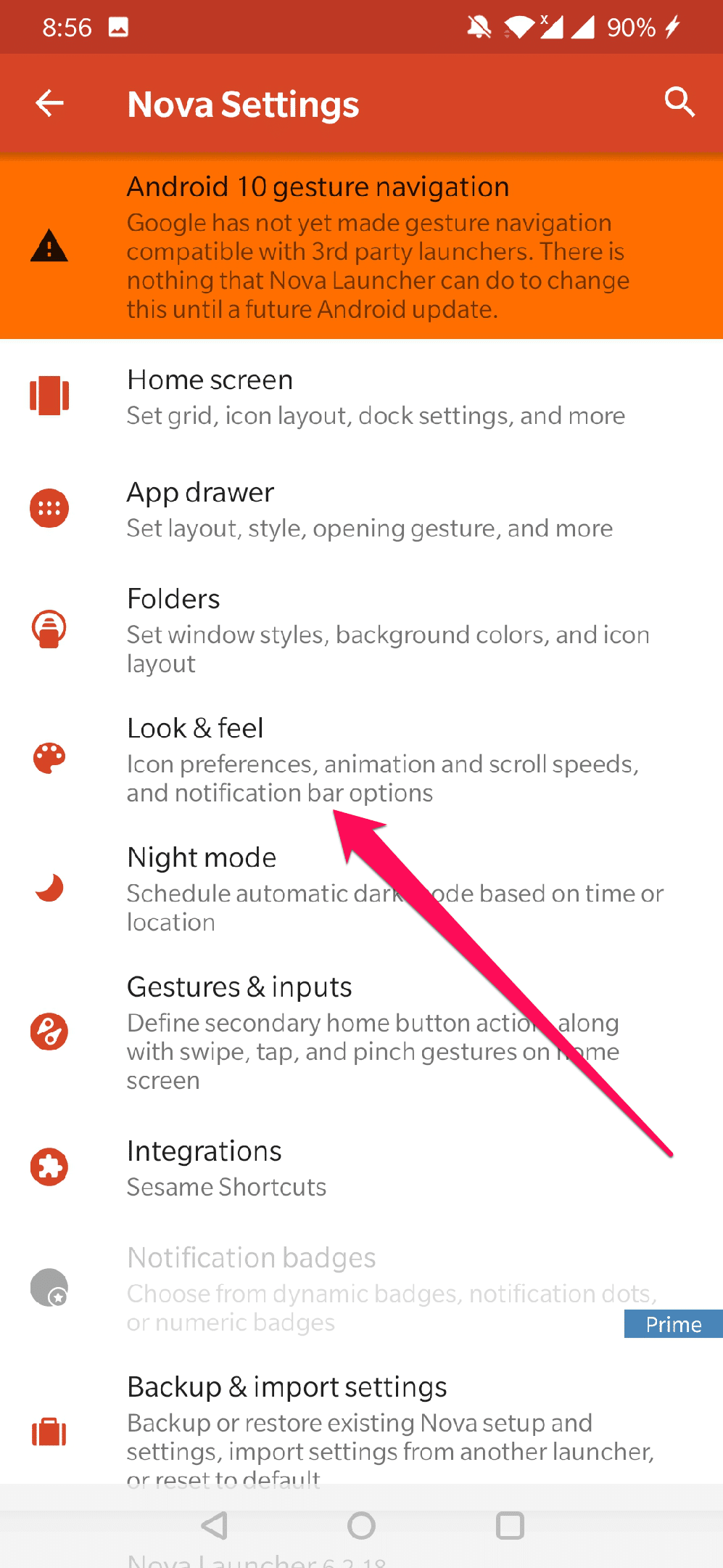 how to change icons on android