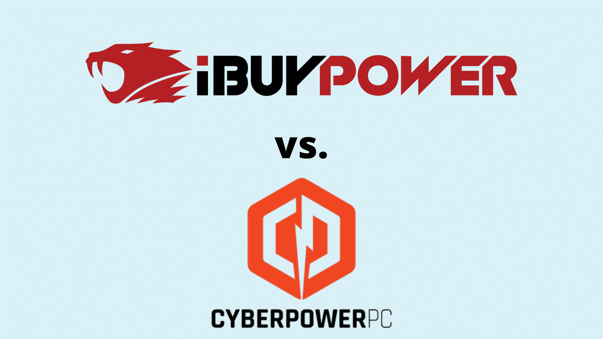 ibuypower vs cyberpower